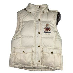 Polo Jeans Company Ralph Lauren Vtg Puffer Vest